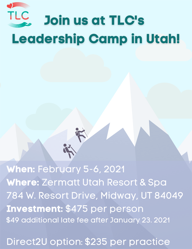 Join us at TLC's Leadership Camp in Utah