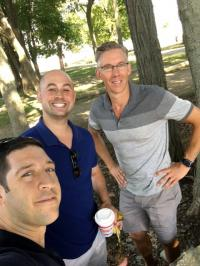 Live Doctor Training in the Park! Steve D'Antonio, Aaron Salinger and Gordon Gibson